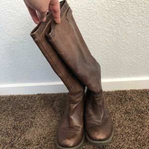 Steve Madden Tall Brown Boots